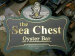 Sea Chest Restaurant Signage
